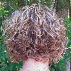 Short Curly Haircuts Back