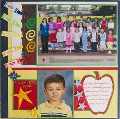 Kindergarten* - Scrapbook.com
