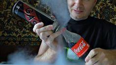 Mischiare Coca Cola e gas propano? Ecco cosa succede alla bottiglia