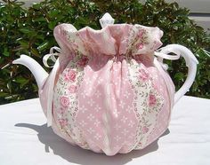Tea Cozy for 6-8 Cup Teapot Reversible, Insulated ENGLISH ROSE  Tea Pot Cozy Cosy  Also Available in 1-2 Cup and 2-4 Cup Sizes, Upon Request by CozyTeaTreasures on Etsy https://www.etsy.com/listing/79596602/tea-cozy-for-6-8-cup-teapot-reversible