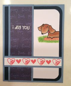 OWH card - using Paper Smooches Woofers and Tweeters
