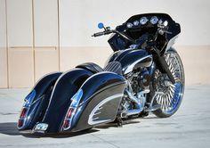 Harley Davidson News – Harley Davidson Bike Pics Harley Bagger, Bagger Motorcycle, Harley Bikes, Motorcycle Style, Custom Baggers, Custom Harleys, Custom Motorcycles, Custom Bikes, Custom Cycles
