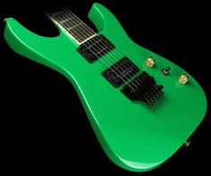 Jackson Custom Shop Exclusive SL2H-V Soloist Electric Guitar Slime Green | The Music Zoo