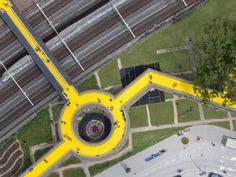 Rotterdam's Yellow Brick Road