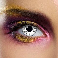 Tick Tock - Lentille de contact décorative par Wildcat Lentilles De Couleur,  Idées Cadeaux, 7c01f7c9bee7