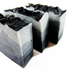 Composure Shea Butter Soap - Activated Charcoal & Tea Tree Handcrafted Cold Process Soap. $6.50, via Etsy.