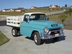 Classic 1955 GMC Stake Bed