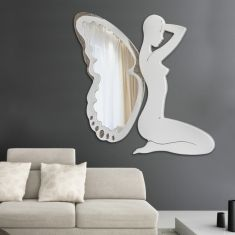 espejos de diseo modelo campanilla marfil