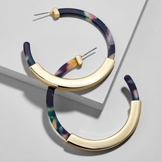 Fashion Bohemia Acrylic Acetate Hoop Earrings for Women Vintage Leopard Print Circle Hoops Alloy Earring za jewelry Female 2018 Coin Pendant Necklace, Shell Pendant, Round Earrings, Women's Earrings, Silver Earrings, Earrings Online, Fashion Earrings, Fashion Jewelry, Rose Gold Brushes