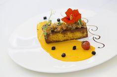 Raffiniertes Vegetarisches Gericht im Hotel Gugerbauer in Österreich
