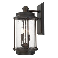 2 Light Wall Lantern
