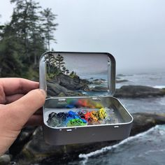 "13.2 mil curtidas, 89 comentários - Heidi Annalise (@heidi.annalise.art) no Instagram: ""The finished mint tin from my previous post! What you can't see in this photo is the remarkable…"""