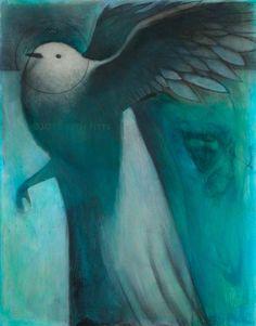 Spirit Guide: White Bird by SethFitts on deviantART