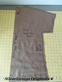 Silverlinings Originals : DIY -- Hello Kitty Scrub Top -- OOTD
