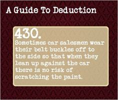 10 more Pins for your A Guide To Deduction board - rishasharma26@gmail.com - Gmail