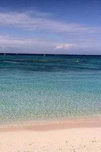 Private Beach in Turks & Caicos HTC Butterfly Wallpaper