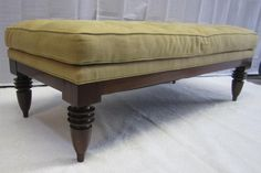 George Smith Style Ottoman : Lot 44
