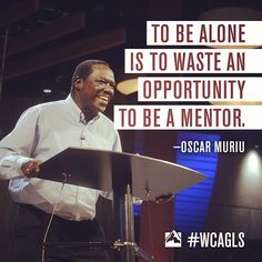 Global Leadership Summit 2013, Oscar Muriu