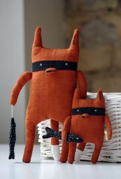 Big Brother by adatine #Toys #Softies #Fox