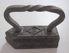 Antique  TAYLORS GOOSE IRON  16 Pounds