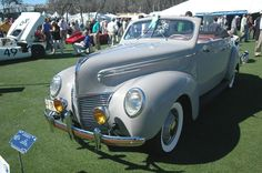 1939 Mercury Series 99A Convertible.