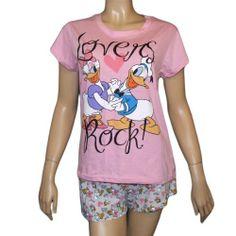 3e5621947 Disney Pajamas, Disney Clothes, Disney Outfits, Daisy Duck, Pajama Shorts,  Disney Dream, Pajama Set, Night Gown, Donald Duck