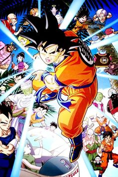 Dragonball Z. It is a classic. It was the first anime I saw random episodes for, but not the first series I watched from the beginning.