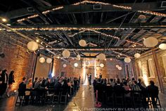 King Plow Ceremony, artist warehouse in Atlanta, Wedding Photography by Leslie Clements