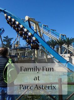 Family fun at Parc Asterix in France