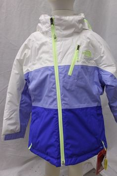 The North Face Girls Insulated Kizamm Jacket Coat Parka Ski XS 6 MSRP $150 NEW | Sporting Goods, Winter Sports, Clothing | eBay!