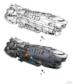 UNSC Corvette design
