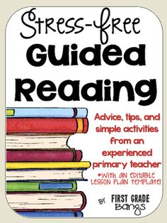 Teach Your Child to Read - Make guided reading simple and effective with these quick tips! - Give Your Child a Head Start, and.Pave the Way for a Bright, Successful Future. Guided Reading Lesson Plans, Guided Reading Activities, Guided Reading Groups, Reading Resources, Kindergarten Reading, Teaching Reading, Kindergarten Blogs, Teaching Ideas, Literacy Activities
