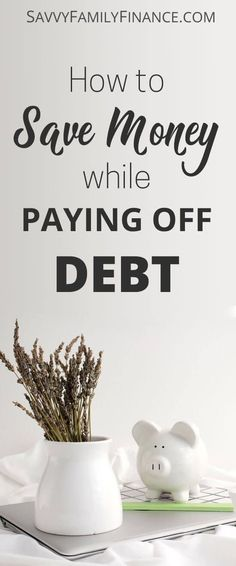 Yes, you CAN start saving money while paying off debt. Find out how to start saving and make it a habit.