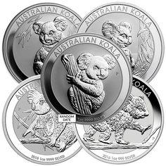 Koala - 1 Oz Pure Silver Us Silver Coins, Decorative Plates, Mint, Pure Products, Tableware, Home Decor, Dinnerware, Decoration Home, Room Decor