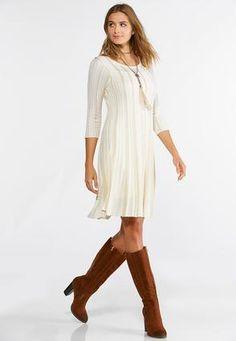 6656ac8d52b74 Cato Fashions Plus Size Metallic Stripe Sweater Dress  CatoFashions Cato  Fashion Plus Size