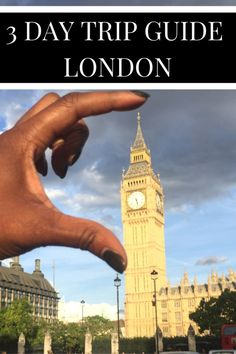Short on time or not sure what to do in London? Here's a 3 day trip guide London.
