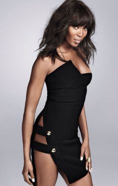 Naomi Campbell covers Shape Magazine, April 2014