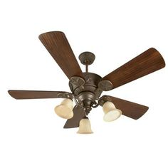 Craftmade - CP52AG sales at Craftmade.  Traditional Outdoor Ceiling Fans Ceiling Fans in a decorative Aged Bronze Textured finish