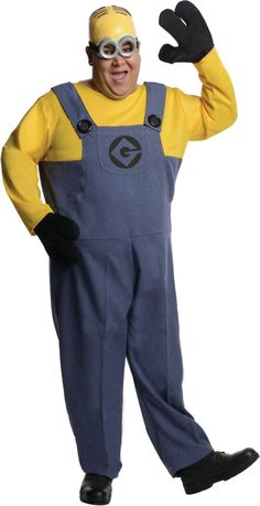 Now you can be the infamous minion who is responsible for inventing the rocket launcher! Dave the minion also has a sweet tooth, especially for ice cream so you Adult Minion Costume, Despicable Me Costume, Minion Halloween Costumes, Halloween Kostüm, Adult Costumes, Funny Costumes, Minions, Minion Dave, Plus Size Halloween
