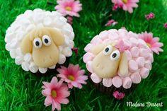 Osterschaf Agathe – Cupcakes im Marshmallowpelz   Madame Dessert