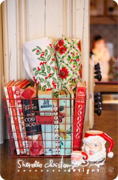 Christmas and cookbooks (from My Crazy Life as a farmers wife)