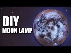 Mad Stuff With Rob - DIY Moon Lamp | Room Decor Ideas - YouTube
