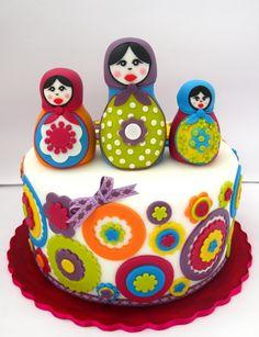 Matryoshkas cake - nothing more perfect