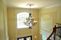 Two story foyer, Painting gallery and Large painting on Pinterest