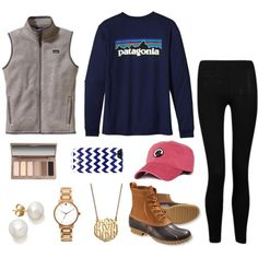 casual day, created by the-southern-prep on Polyvore