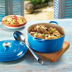Stylish dining ideas from Le Creuset