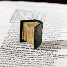 il libro antico più piccolo del mondo (o comunque uno dei più piccoli): si tratta del testo di una lettera di Galileo Galilei a madama Cristina di Lorena, fu stampato a Padova nel 1896