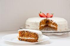 : smotanovy syr maslo a praskovy cukor Vanilla Cake, Tiramisu, Favors, Cheesecake, Yummy Food, Baking, Ethnic Recipes, Food Ideas, Sweater