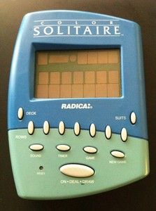 $39.99  1999 Radica Color Solitaire Handheld Electronic Game Klondike Vegas Hard To Find