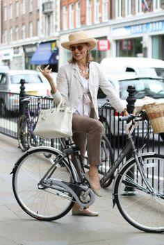 If I'm half this cool when I'm that age, I'll be happy. 6 Stylish 60 and Older Women Who Bike